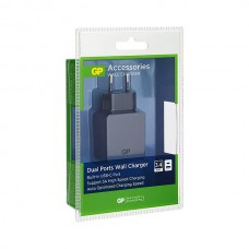 GP WA51 WALL CHARGER USB A: 2.4A + USB C: 3A